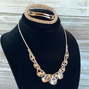 Charming Charlie Necklace and Barrette